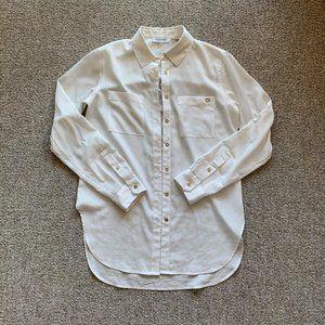Calvin Klein roll sleeve button up shirt